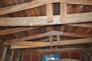 Bedding Shed Roof Damage