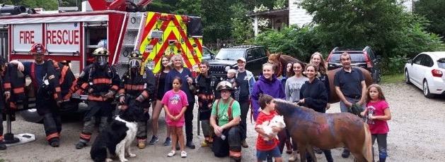 Lunenburg & District FD @ Horse Boy